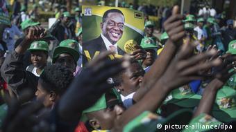 Στις εκλογές του 2018 νίκησε ο Έμερσον Μνανγκάγκβα.