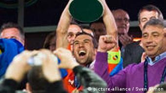 Fußball UEFA Cup Sieger Schachtjor Donezk