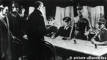 Erster Weltkrieg | Waffenstillstand von Compiegne