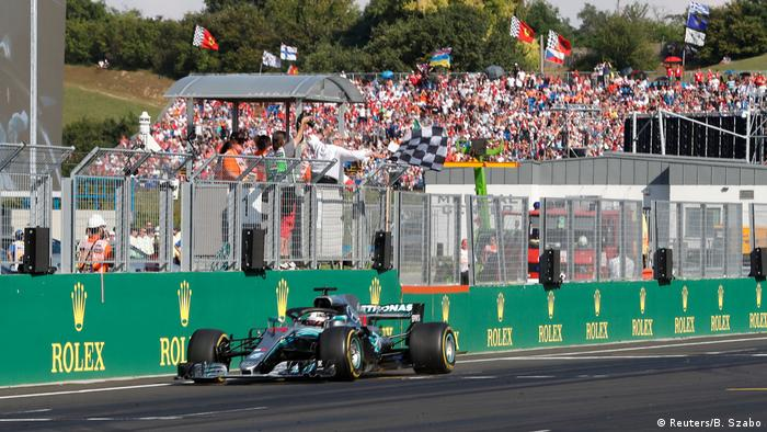 Ungarn Formel 1 in Budapest - Lewis Hamilton (Reuters/B. Szabo)