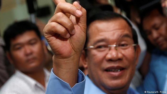 Kambodscha | Premierminister Hun Sen (Reuters/S. Pring)