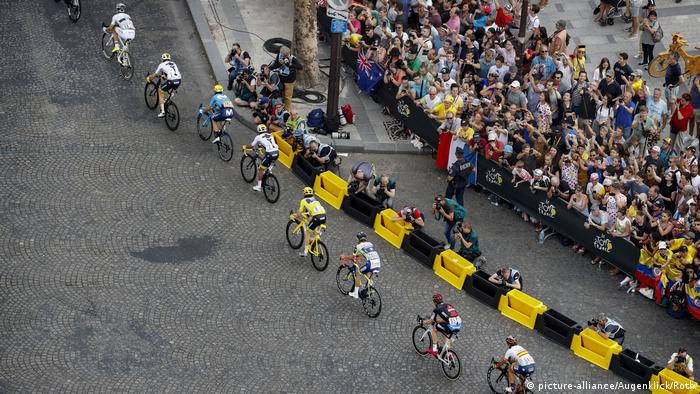 Frankreich Tour de France 21. Etappe in Paris (picture-alliance/Augenklick/Roth)