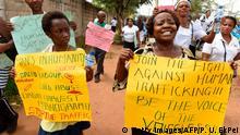 Lagos | Proteste gegen Menschenhandel