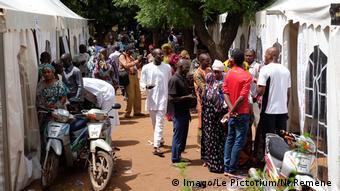 Ambiance de campagne électorale en juillet 2018 à Bamako