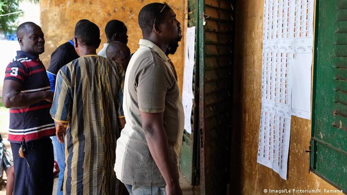The first round of the Mali elections