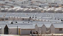 Jordanien - Azraq Flüchtlingscamp
