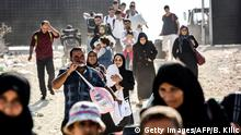 Türkei Grenze - Syrische Flüchtlinge