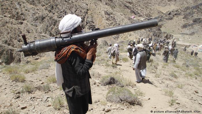 عکس آرشیف از جنگجویان گروه شورشی طالبان در ولسوالی شیندند ولایت هرات