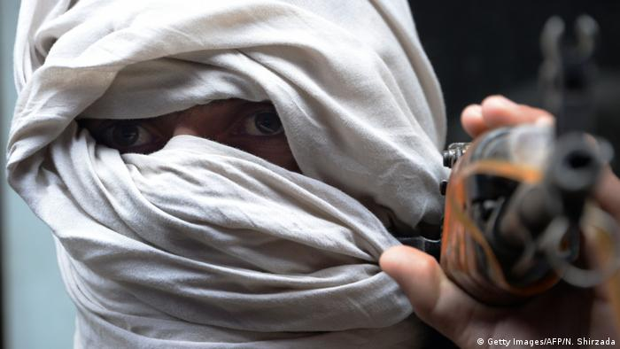 An Afghan Taliban fighter (Getty Images/AFP/N. Shirzada)