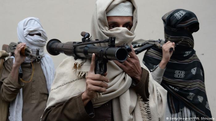 Бойцы движения Талибан