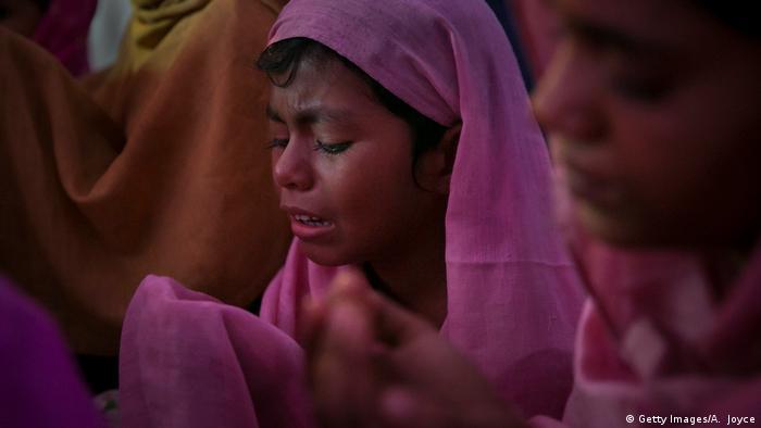 Opfer von Menschenhandel - Rohingya in Bangladesch