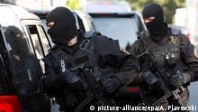 Serbien Belgrad Polizeieinsatz gegen Mafia