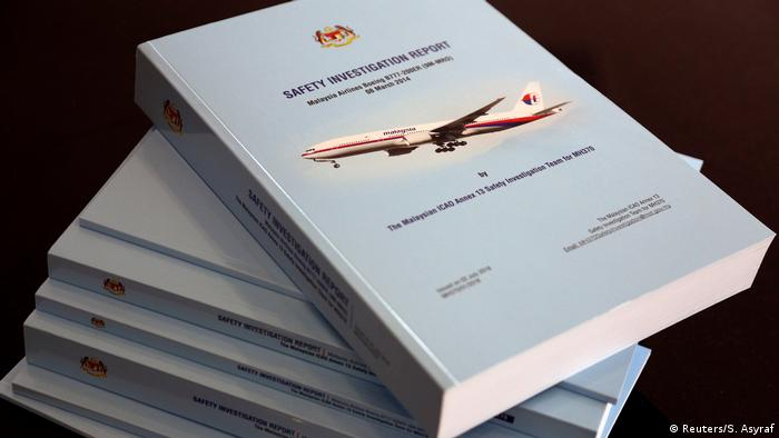 Malaysia Abschlussbericht Vermisstes Flugzeug MH370 (Reuters/S. Asyraf)