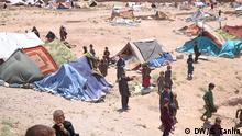 26.07.2018 Afghanistans Krieg und nun Dürre zwingen Tausande Menschen zu Binnenflucht. Es handelt sich um ein Flüchtlingslager in Herat/ West Provinz