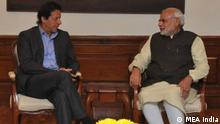 Neu-Delhi Treffen Imran Khan and Narendra Modi (MEA India)