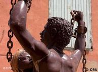 Escravidão hoje é menos visível do que nesta obra de um artista senegalês