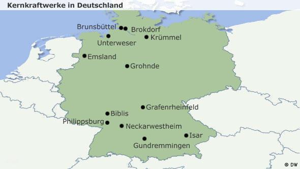 Atomkraftwerke Deutschland Karte.Bildergalerie Deutschland Ein Atomar Gespaltenes Land