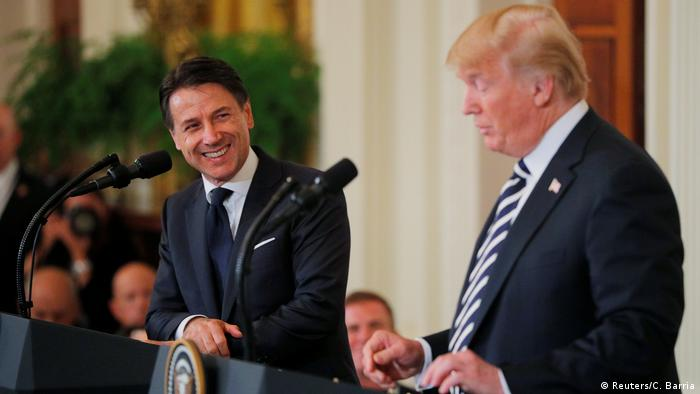 USA Washington Donald Trump & Giuseppe Conte, Ministerpräsident Italien (REUTERS)