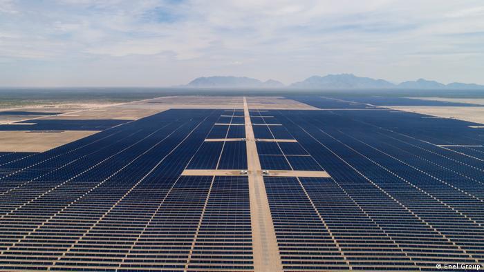 Großer Solarpark Villanueva in Mexiko