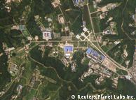 Супутниковий знімок місця виробництва ракет у КНДР, липень 2018 року