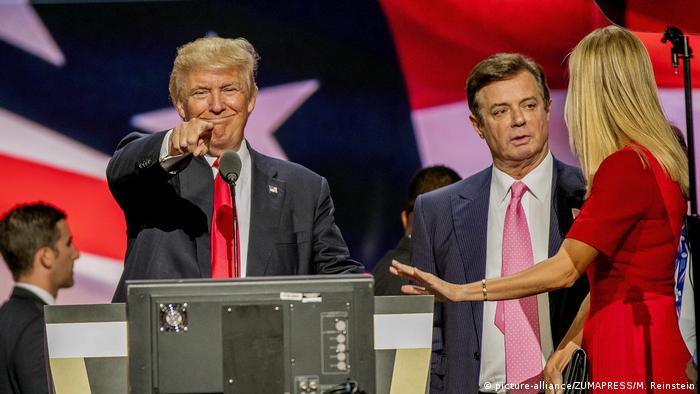 USA - Donald Trump und Paul Manafort (picture-alliance/ZUMAPRESS/M. Reinstein)