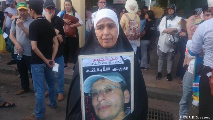 مليكة بوعيادي والدة المعتقل ربيع الأبلق