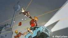 Spirou em Berlim: personagem belga comemora 80 anos
