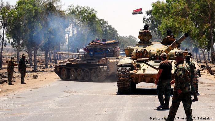 Syrien Daraa (picture-alliance/Photoshot/A. Safarjalani)