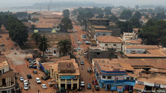 A view of the capital of CAR, Bangui.