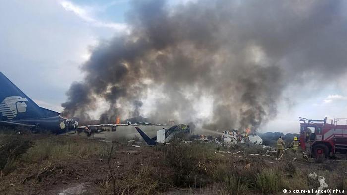 Mexiko Durango Flugzeugunglück (picture-alliance/Xinhua)