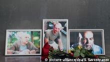 Moskau Trauer um getötete Journalisten