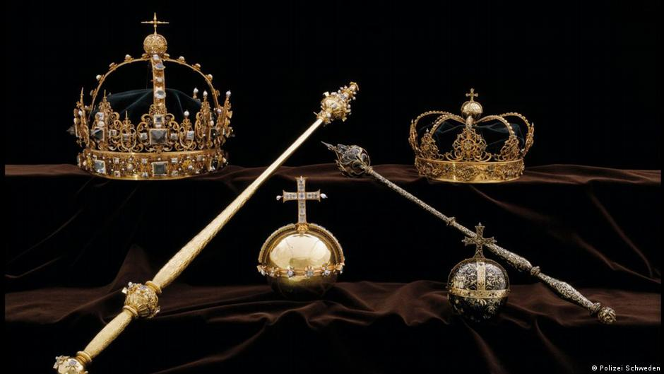 Swedish Crown Jewels stolen from Strangnas Cathedral in speedboat heist