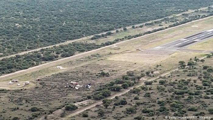 Mexiko Durango Flugzeugunglück