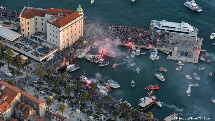 Kroatien Split Abschied von Oliver Dragojevic (Imago/Pixsell/D. Stanin)