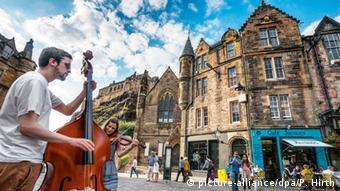 Το Εδιμβούργο είναι ιδιαίτερα δημοφιλής τουριστικός προορισμός