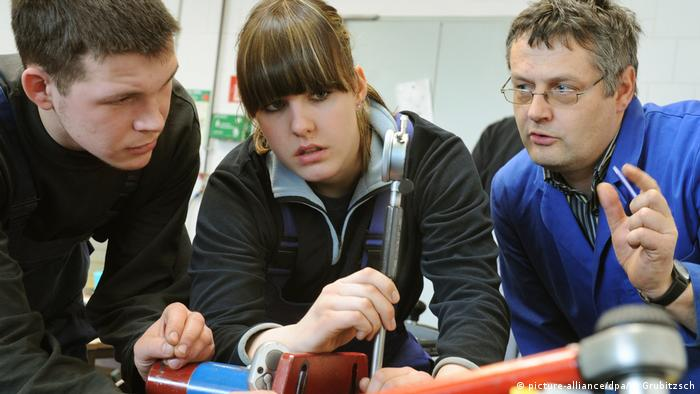 Lehrlingsausbildung der Handwerkskammer