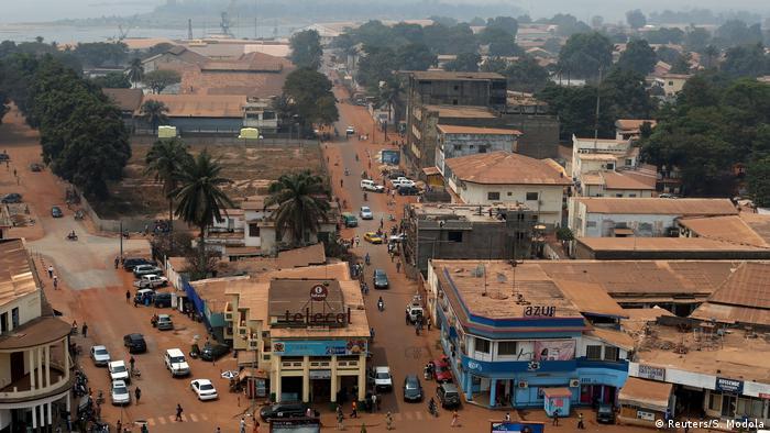 Zentralafrikanische Republik Hauptstadt Bangui