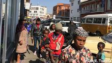 Madagasgar Straßenszene in Antananarivo