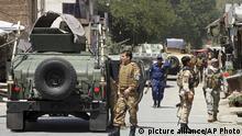 عکس از آرشیف: نیروهای امنیتی در شهر جلال آباد