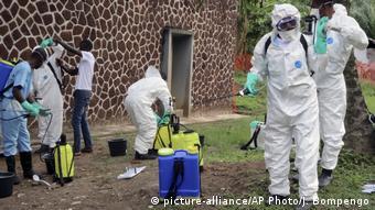 Kongo Ebola (picture-alliance/AP Photo/J. Bompengo)