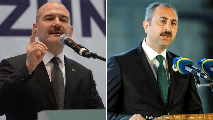 Kombibild Türkei Abdulhamit Gul | Suleyman Soylu (picture-alliance/AA/S. Yordamovic/A. Ozler)