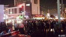 Demonstration in Karaj gegen arbeitslosigkeit und Korruption. Rechte: UGC