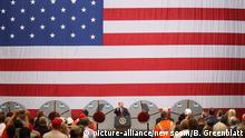 USA Präsident Donald Trump & Steel Granite City Works