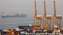 China Hafen von Dalian