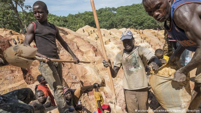 A CAR gold mine in Ndassima