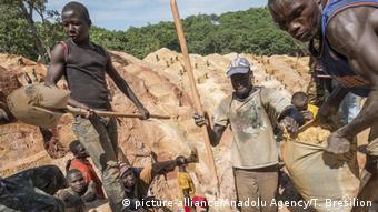 Zentralafrikanische Republik Goldmine Ndassima (picture-alliance/Anadolu Agency/T. Bresilion)