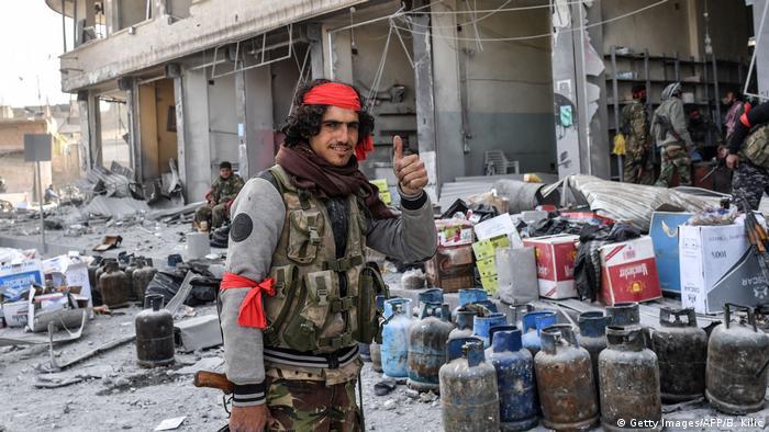 Syrien Afrin Arabische Milizen Plünderungen