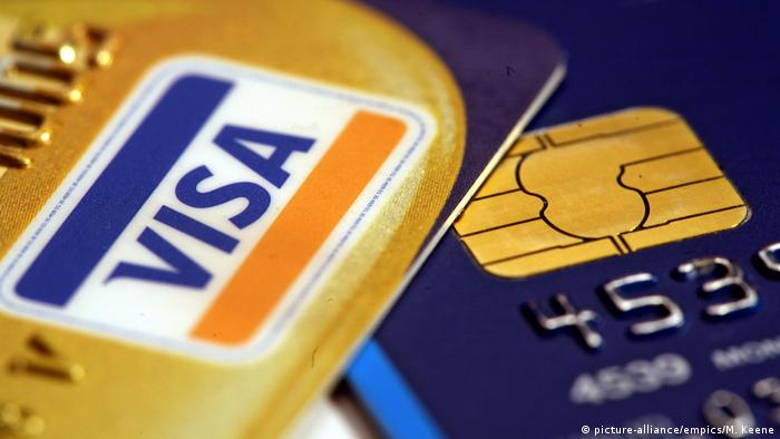 VISA Credit Card with EMV-Chip