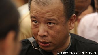 Zhao Lianhai Aktivist Milchpulver Skandal (Getty Images/AFP/P. Parks)