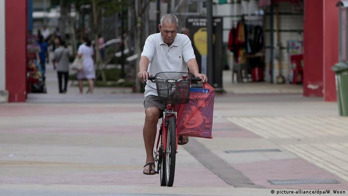 China Singapur Seniorenfreundlicher Stadtteil